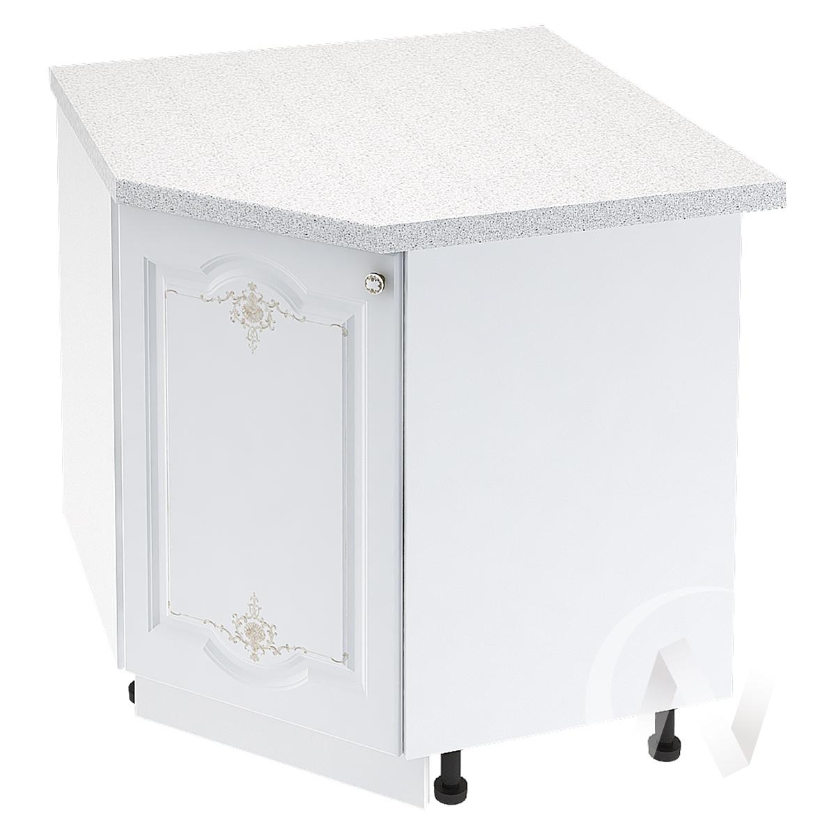 """Кухня """"Шарлиз"""": Шкаф нижний угловой 890, ШНУ 890 (корпус белый)"""