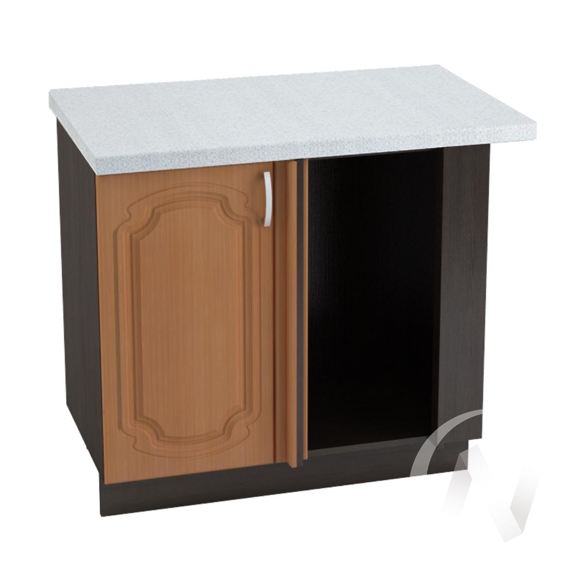 """Кухня """"Настя"""": Шкаф нижний угловой 990М, ШНУ 990М (Орех миланский/корпус венге)"""