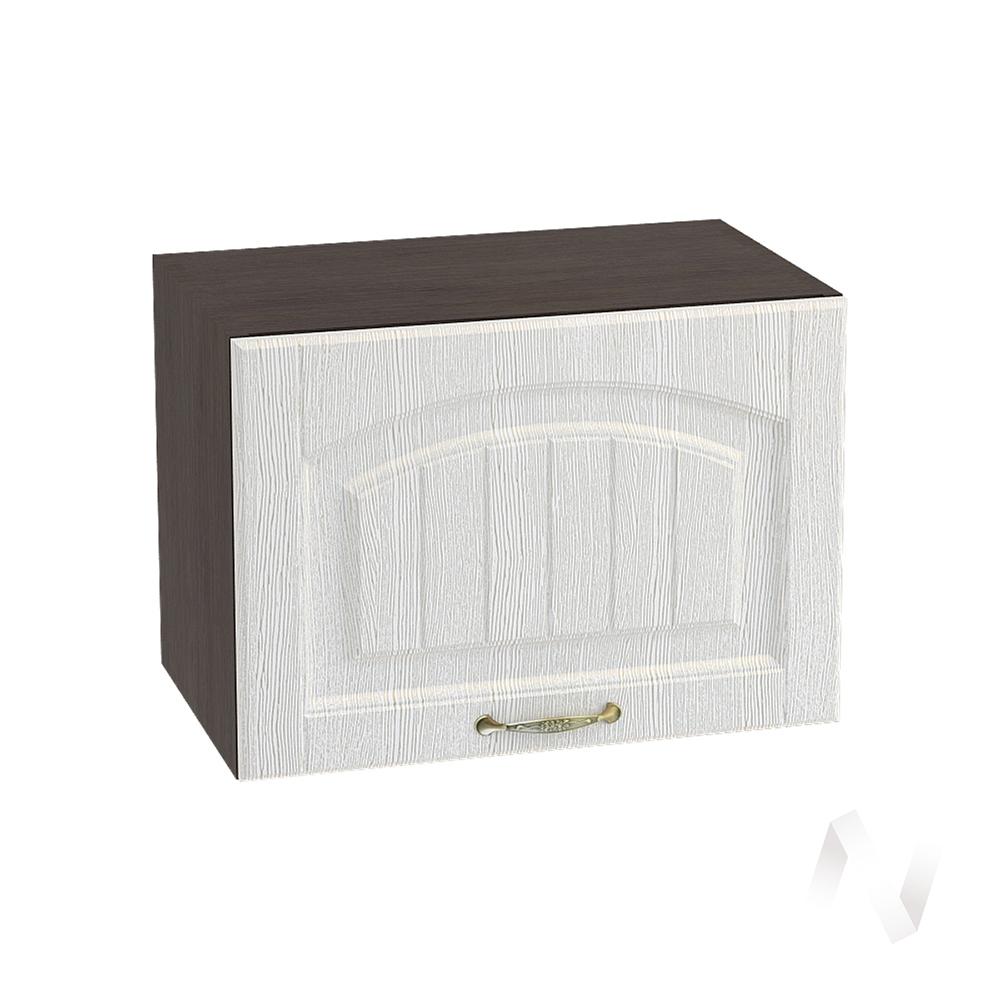 """Кухня """"Верона"""": Шкаф верхний горизонтальный 500, ШВГ 500 (ясень золотистый/корпус венге)"""