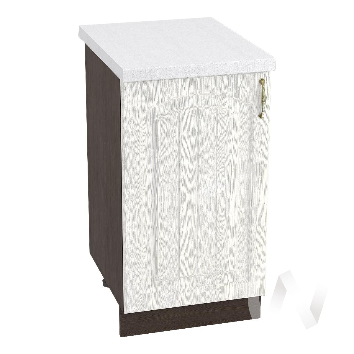 """Кухня """"Верона"""": Шкаф нижний 450 левый, ШН 450 (ясень золотистый/корпус венге)"""
