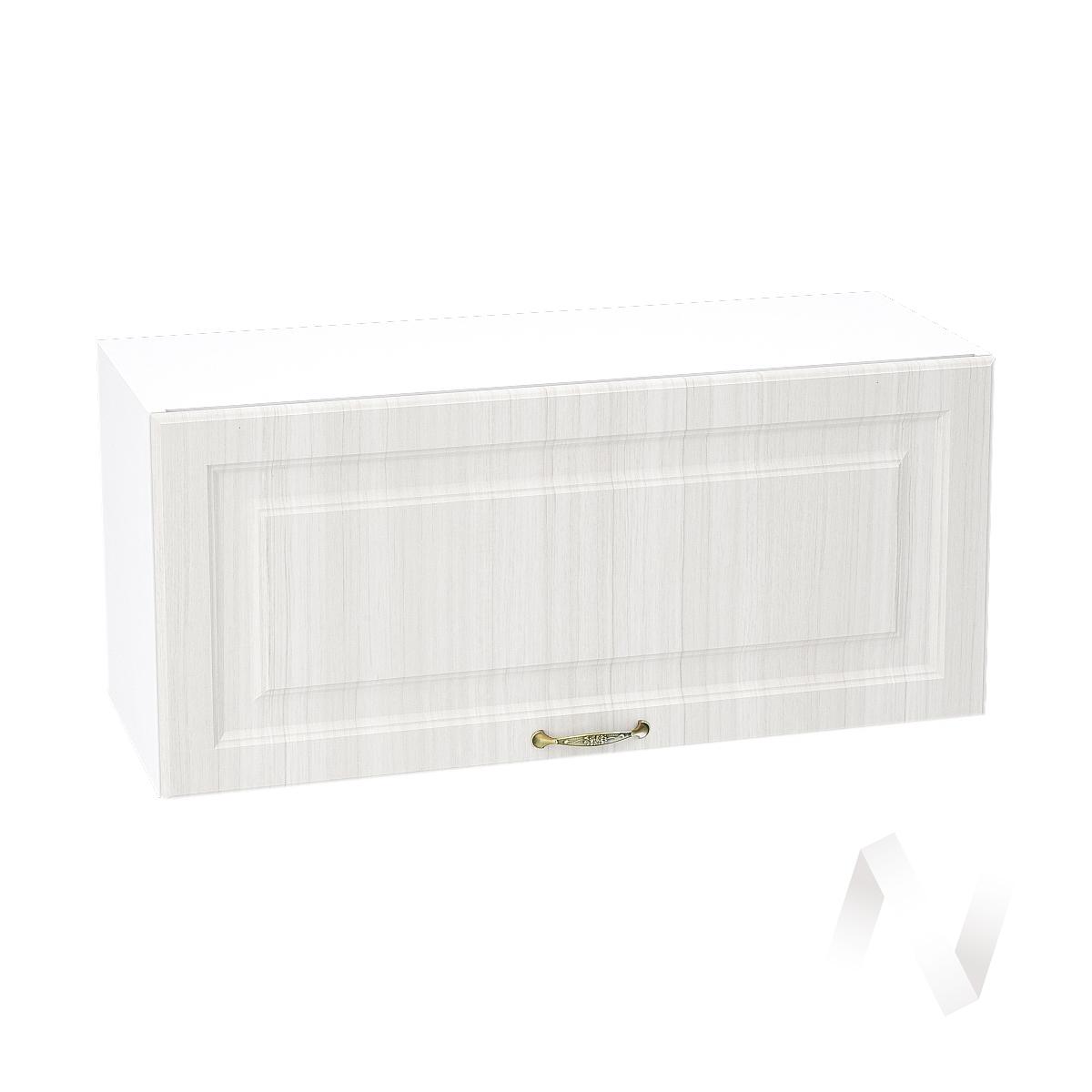"""Кухня """"Виктория"""": Шкаф верхний горизонтальный 800, ШВГ 800 (корпус белый)"""