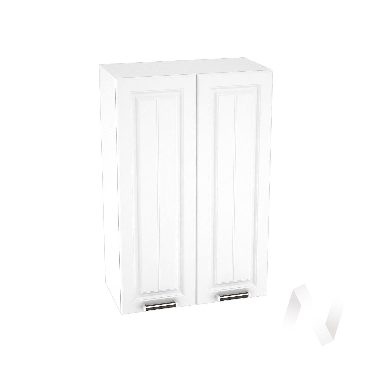 """Кухня """"Прага"""": Шкаф верхний 609, ШВ 609 (белое дерево/корпус белый)"""