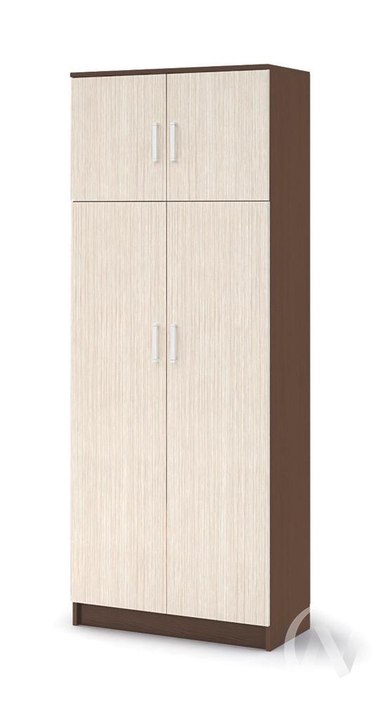 Шкаф с перегородкой ШК 205 Прихожая Машенька (шимо темный/шимо светлый)