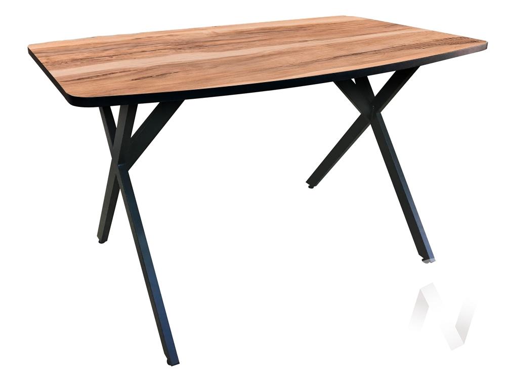 Стол Rolf (венге/индийское дерево/металлокаркас черный) недорого в Томске — интернет-магазин авторской мебели Экостиль