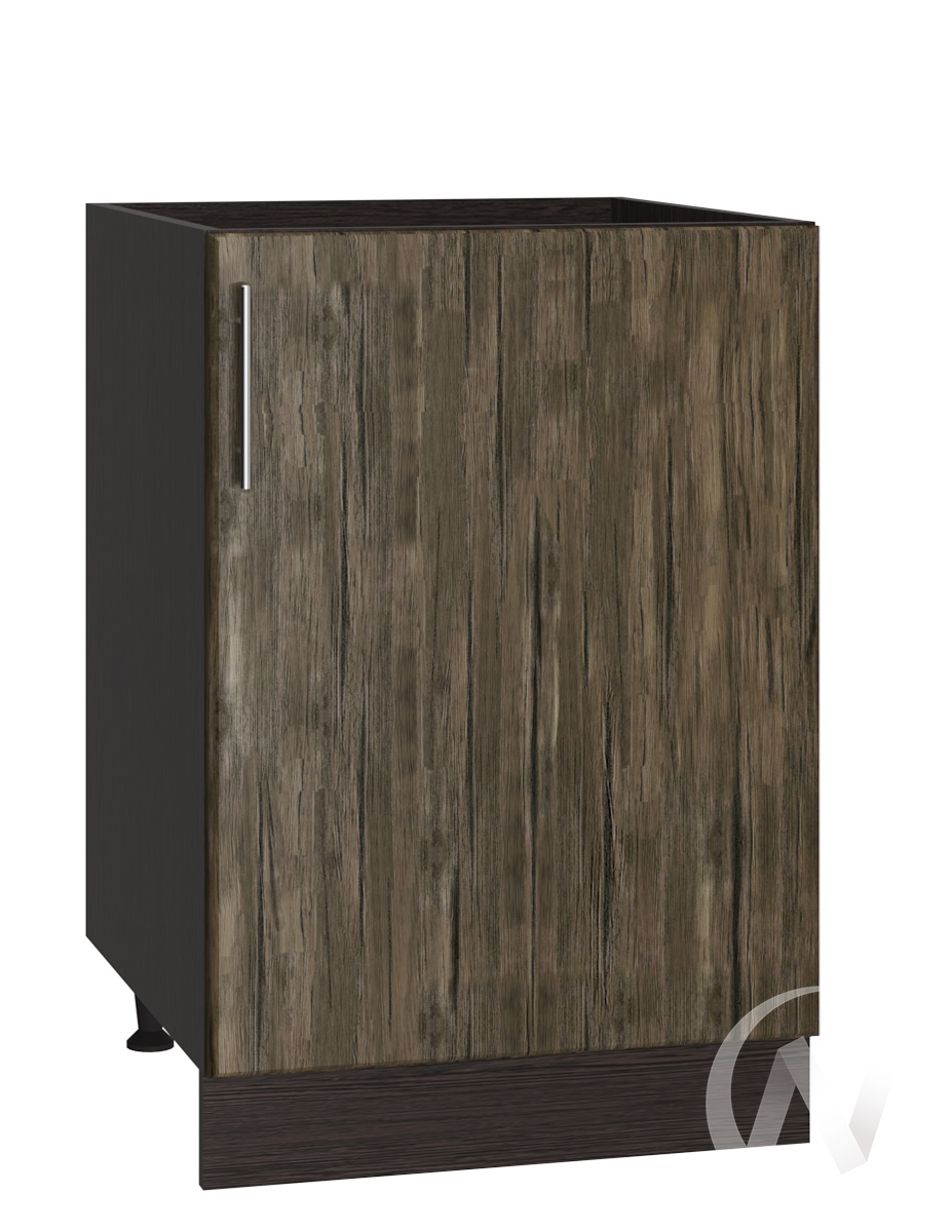 "Кухня ""Норден"": Шкаф нижний 500, ШН 500 (старое дерево/корпус венге)"