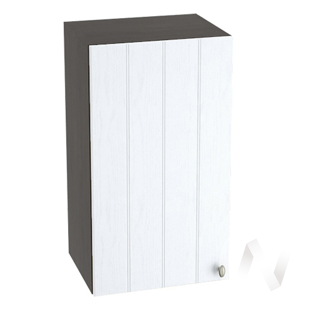 "Кухня ""Прованс"": Шкаф верхний 400, ШВ 400 (белое дерево/корпус венге)"