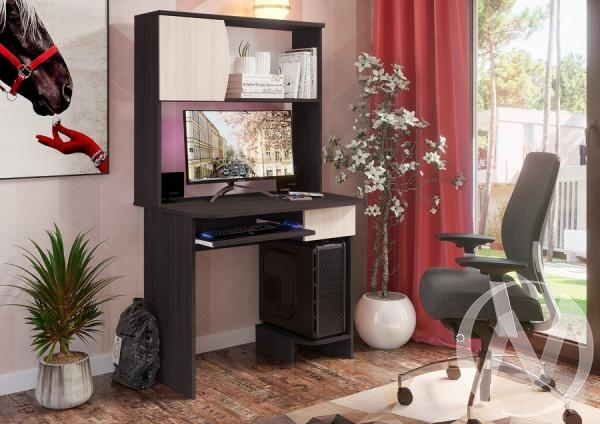 Стол компьютерный №2 (венге/дуб белфорт)