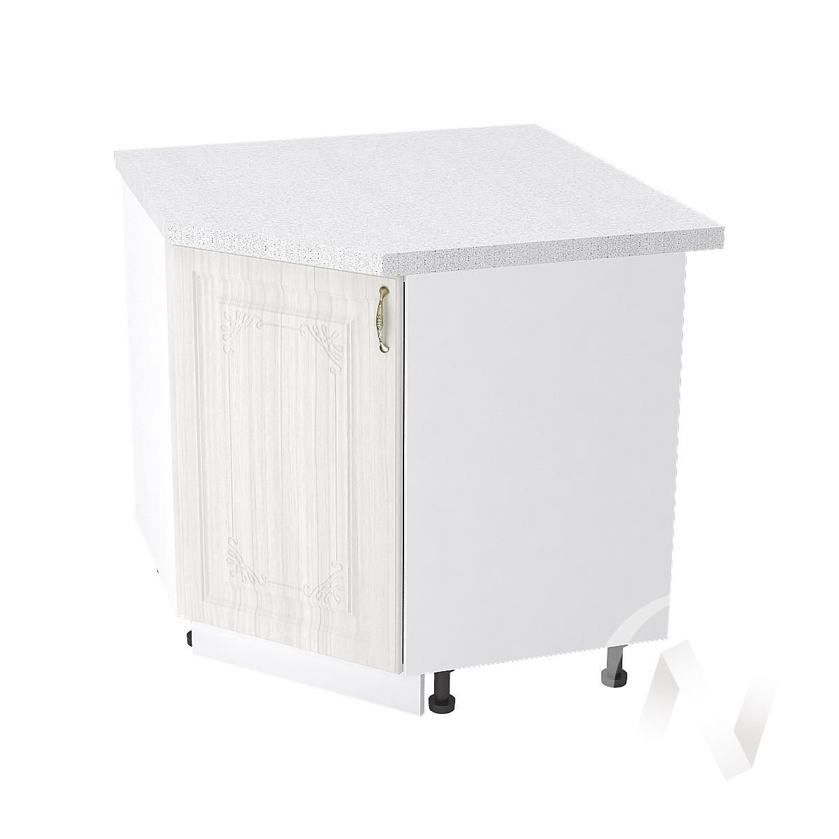 """Кухня """"Виктория"""": Шкаф нижний угловой 890, ШНУ 890 (корпус белый)"""
