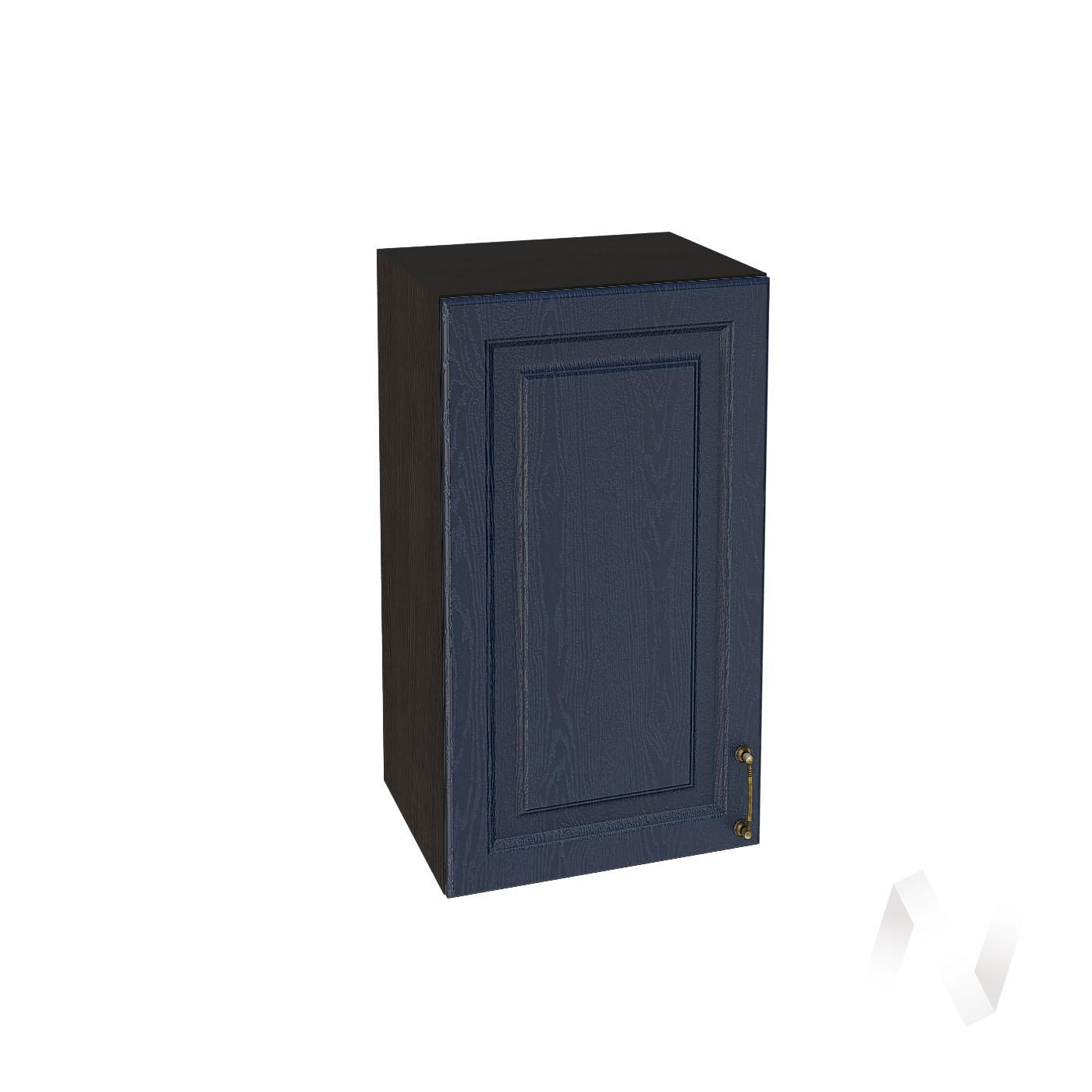 """Кухня """"Ницца"""": Шкаф верхний 400, ШВ 400 (Дуб чернильный/корпус венге)"""