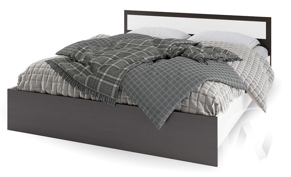 Кровать 0,9м КР 603 Спальня Гармония (венге/анкор)  в Новосибирске - интернет магазин Мебельный Проспект