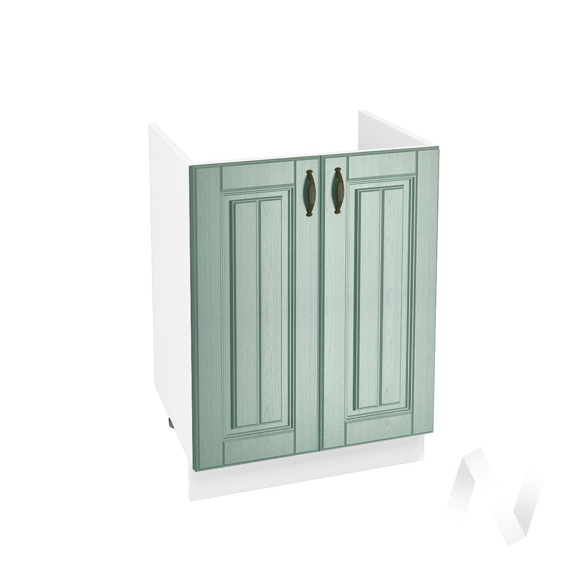 """Кухня """"Прованс"""": Шкаф нижний под мойку 600, ШНМ 600 (корпус белый)"""
