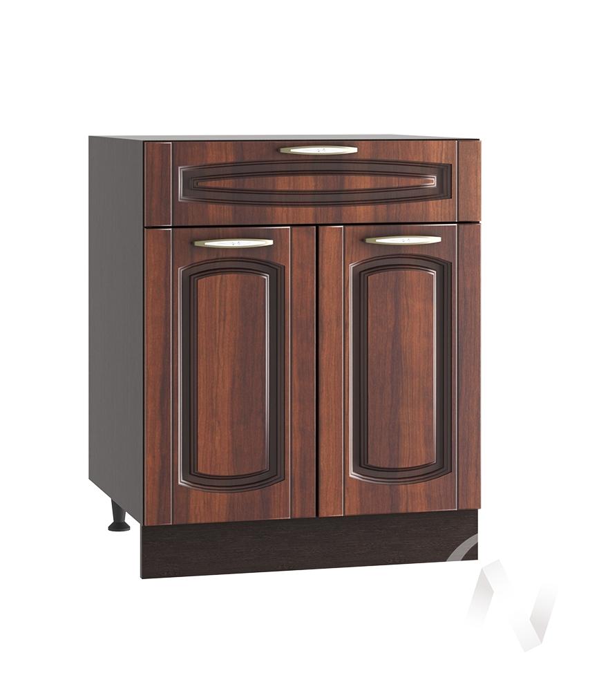 """Кухня """"Неаполь"""": Шкаф нижний с ящиком 600, ШН1Я 600 М (Италия/корпус венге)"""