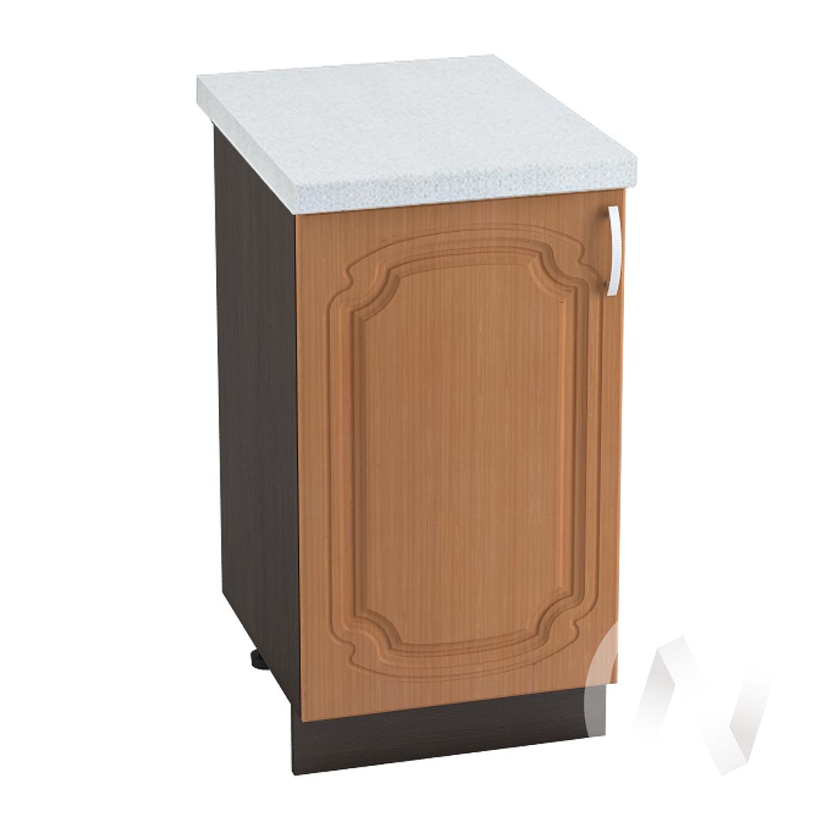 "Кухня ""Настя"": Шкаф нижний 400, ШН 400 (Орех миланский/корпус венге)"