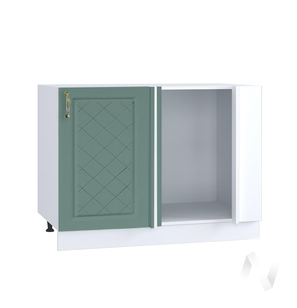 """Кухня """"Селена"""": Шкаф нижний угловой 990М, ШНУ 990М (Дуб бирюзовый/корпус белый)"""