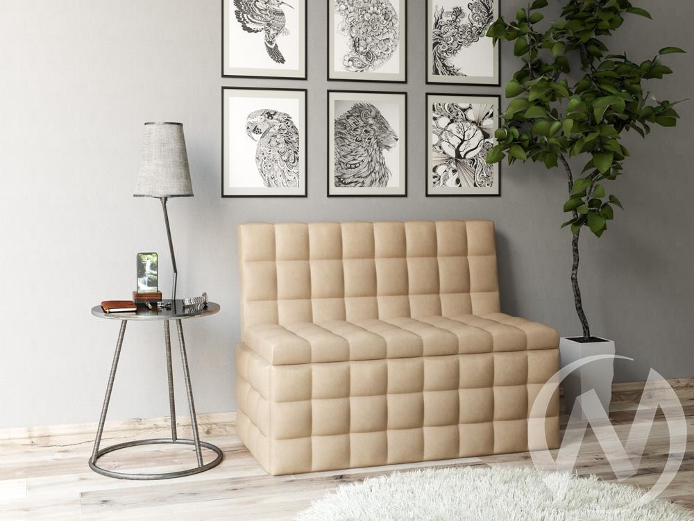 Скамья Темпо кожзам (бежевый)  в Томске — интернет магазин МИРА-мебель
