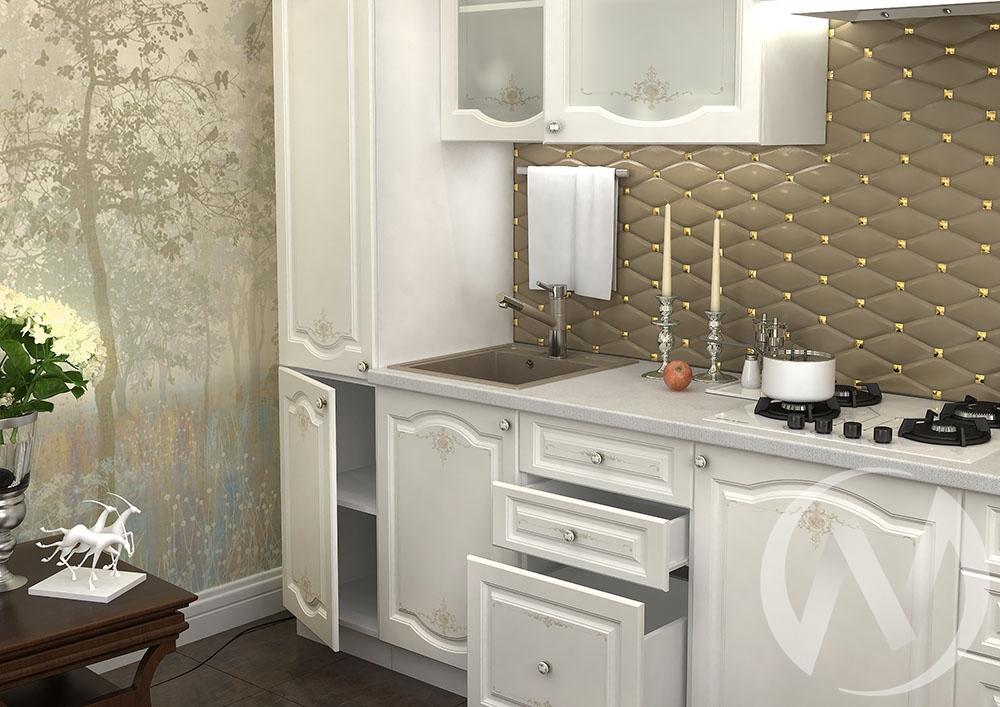 """Кухня """"Шарлиз"""" (корпус белый) в Томске — авторская мебель Экостиль"""