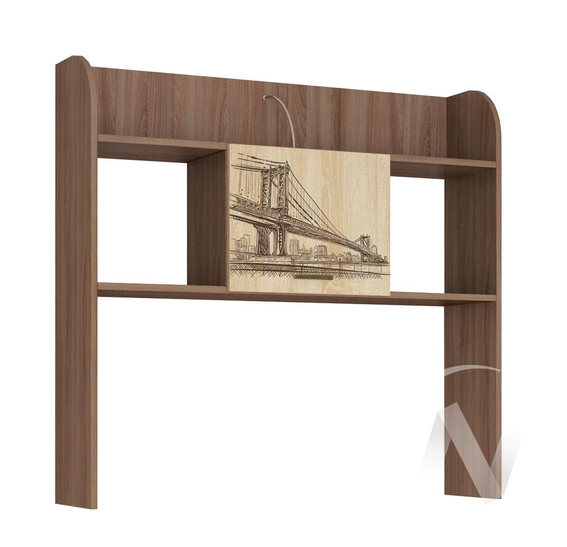 Надстройка стола Детская Орион (ясень шимо/дуб сонома)