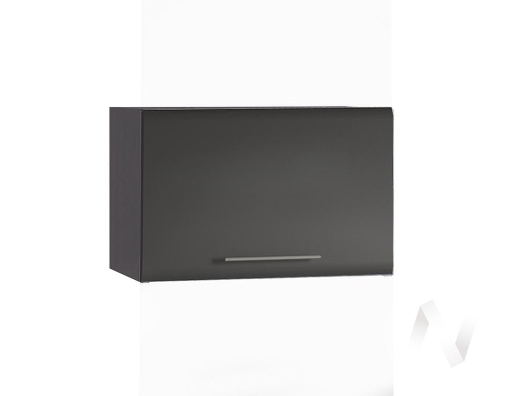 """Кухня """"Люкс"""": Шкаф верхний горизонтальный 500, ШВГ 500 (Шелк венге/корпус венге)"""