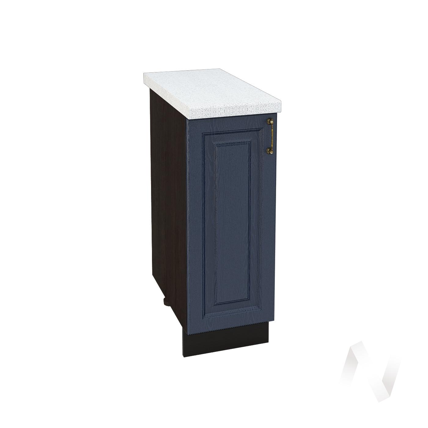 """Кухня """"Ницца"""": Шкаф нижний 300, ШН 300 (Дуб чернильный/корпус венге)"""