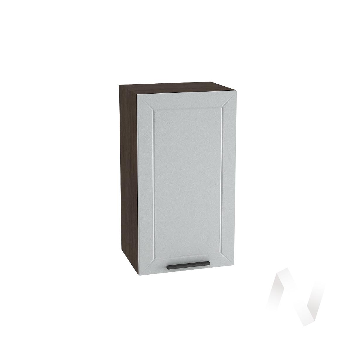"""Кухня """"Глетчер"""": Шкаф верхний 400, ШВ 400 (Гейнсборо Силк/корпус венге)"""