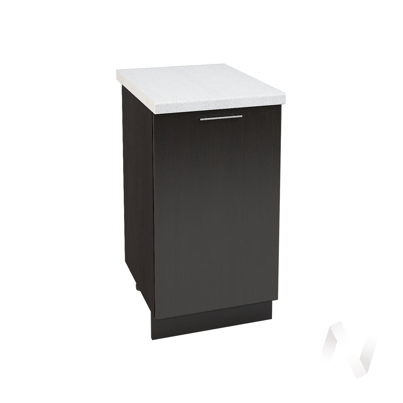 "Кухня ""Валерия-М"": Шкаф нижний 450, ШН 450 (венге/корпус венге)"
