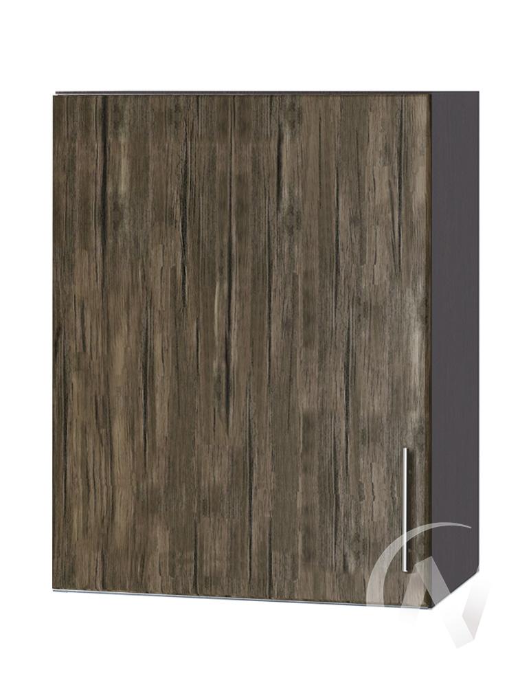 """Кухня """"Норден"""": Шкаф верхний 500, ШВ 500 (старое дерево/корпус венге)"""
