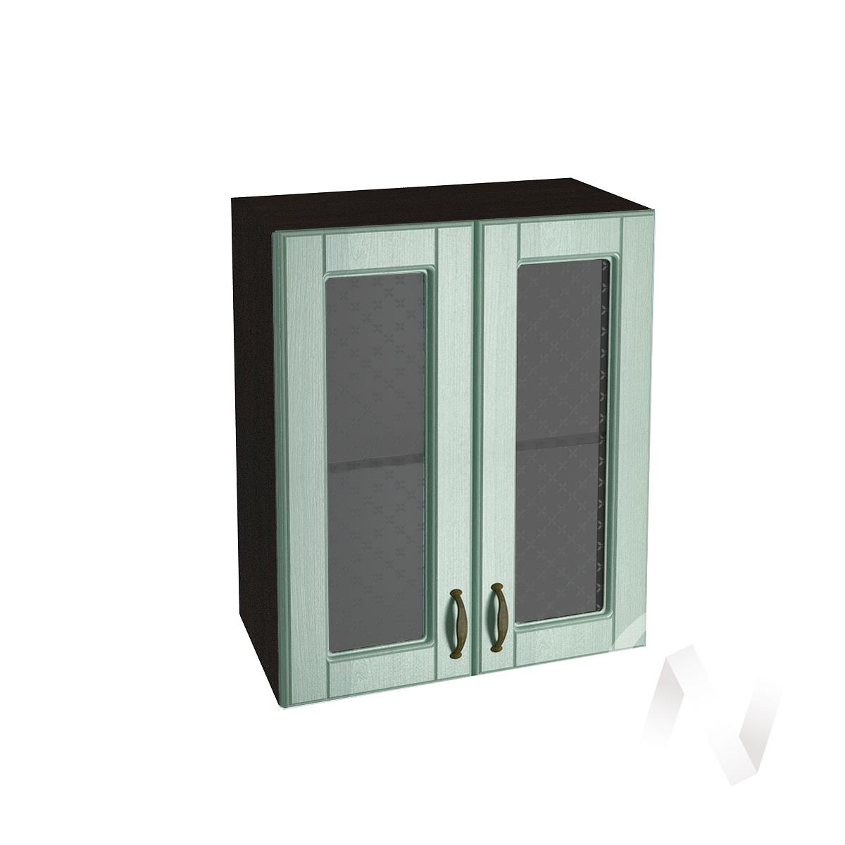 "Кухня ""Прованс"": Шкаф верхний со стеклом 600, ШВС 600 (корпус венге)"