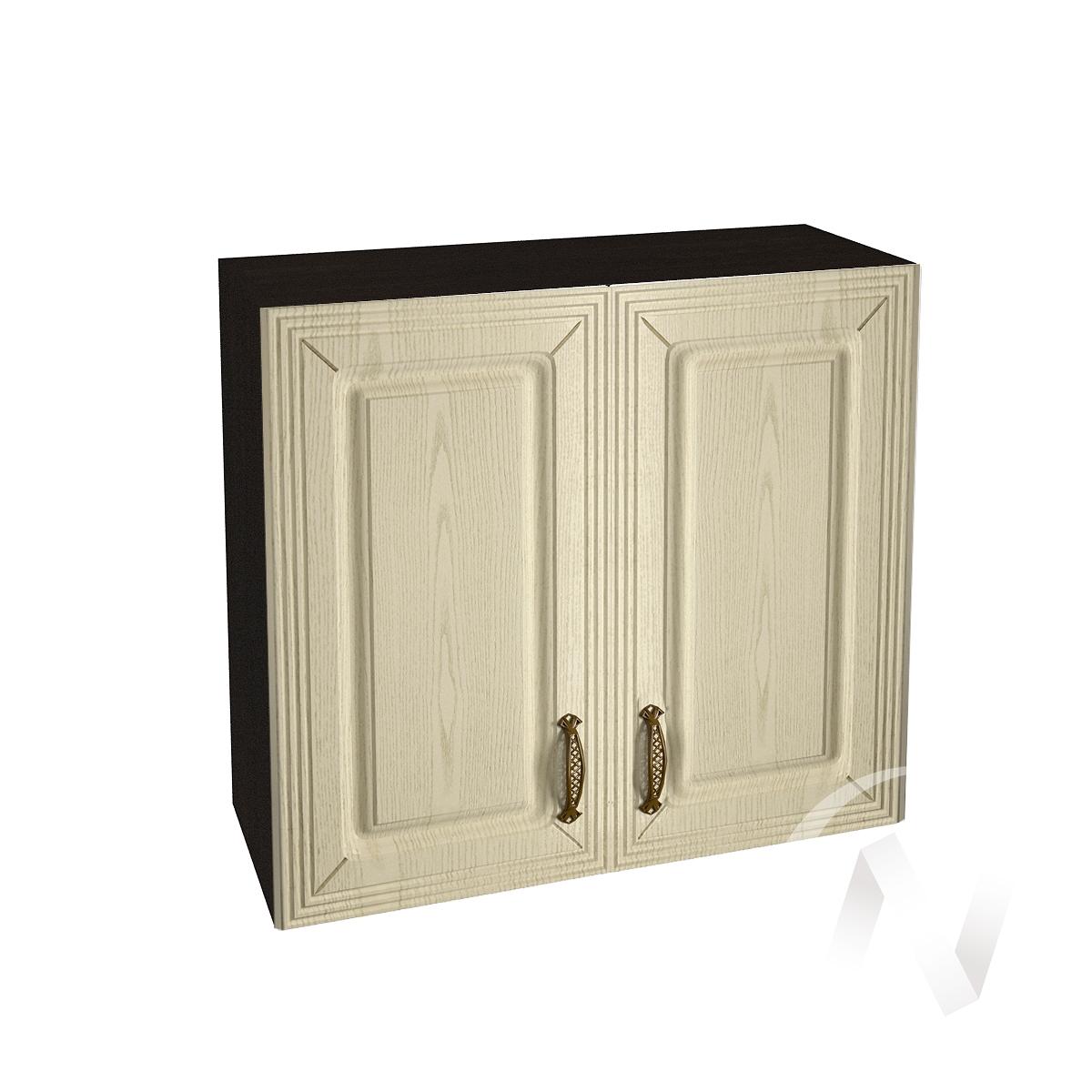 """Кухня """"Изабель"""": Шкаф верхний 800, ШВ 800 (корпус венге)"""