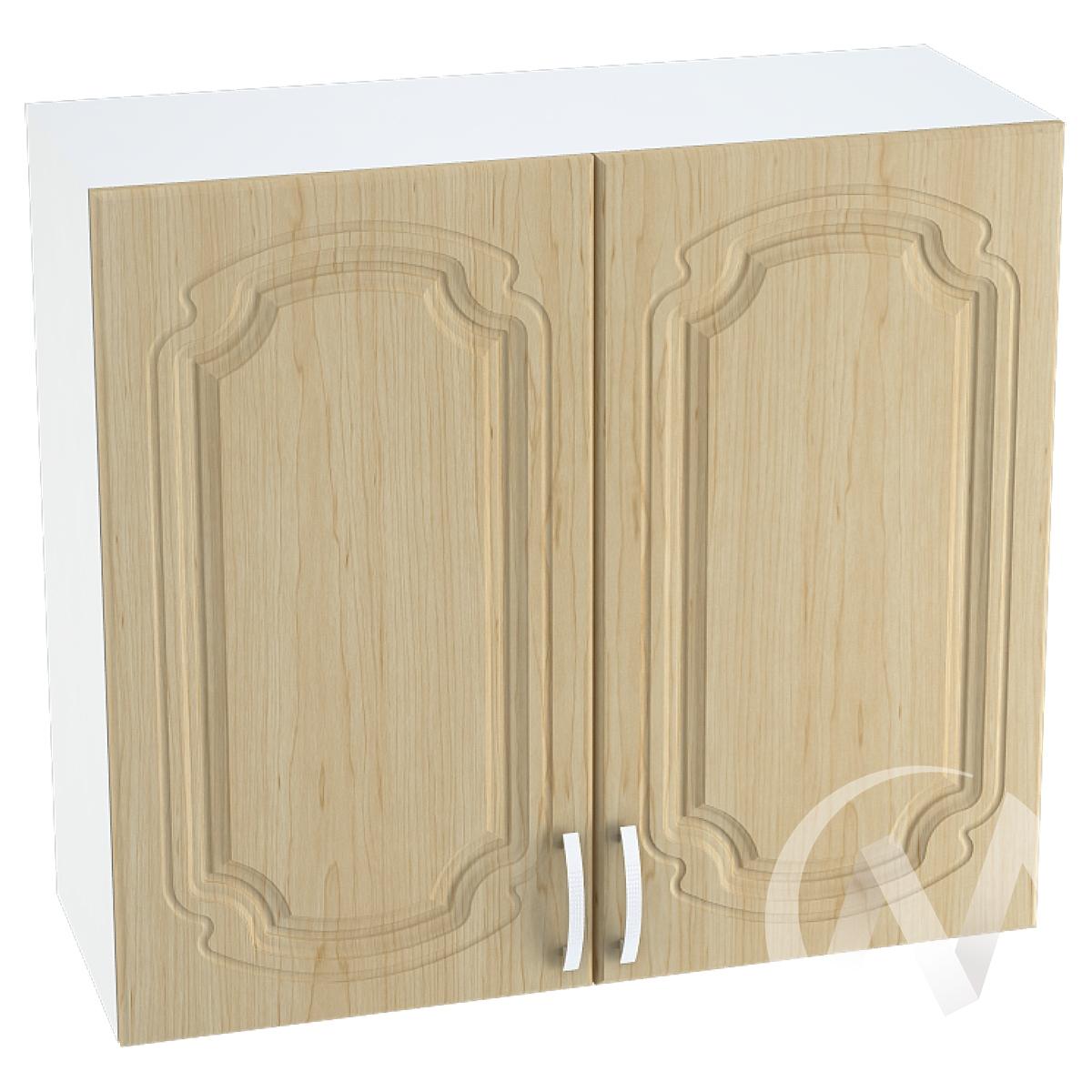"Кухня ""Настя"": Шкаф верхний 800, ШВ 800 (Береза/корпус белый)"