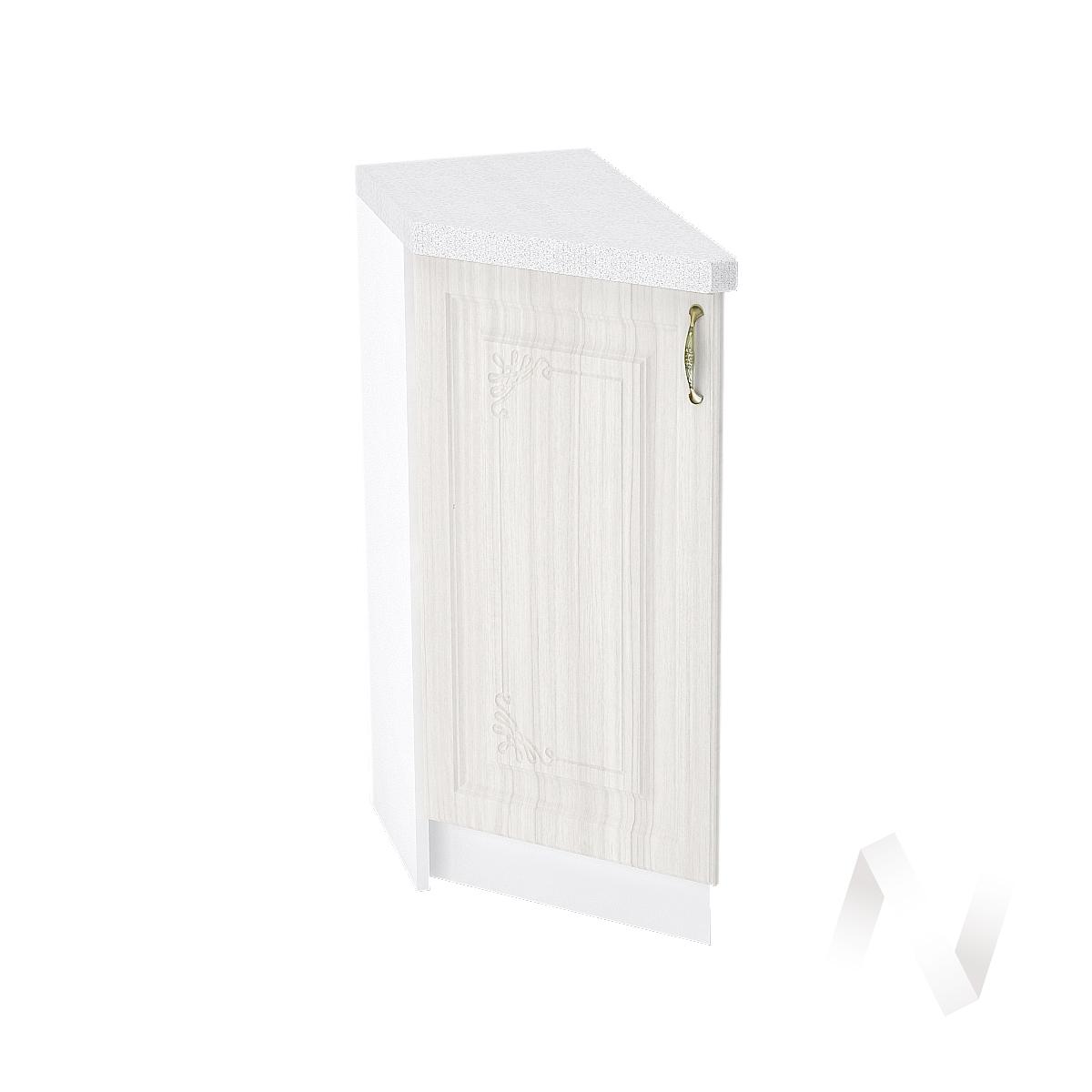 """Кухня """"Виктория"""": Шкаф нижний торцевой 300, ШНТ 300 (корпус белый)"""