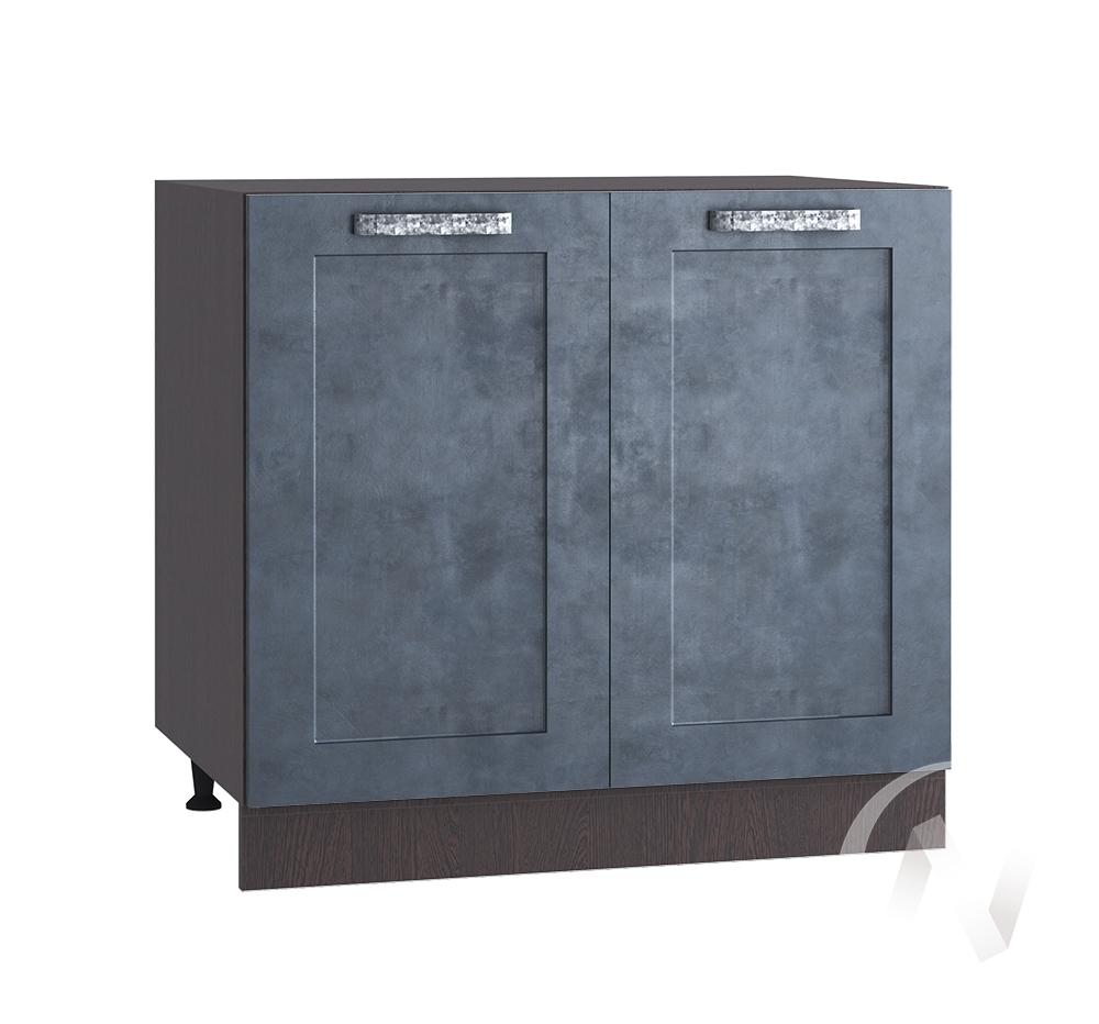 "Кухня ""Лофт"": Шкаф нижний 800, ШН 800 (Бетон графит/корпус венге)"