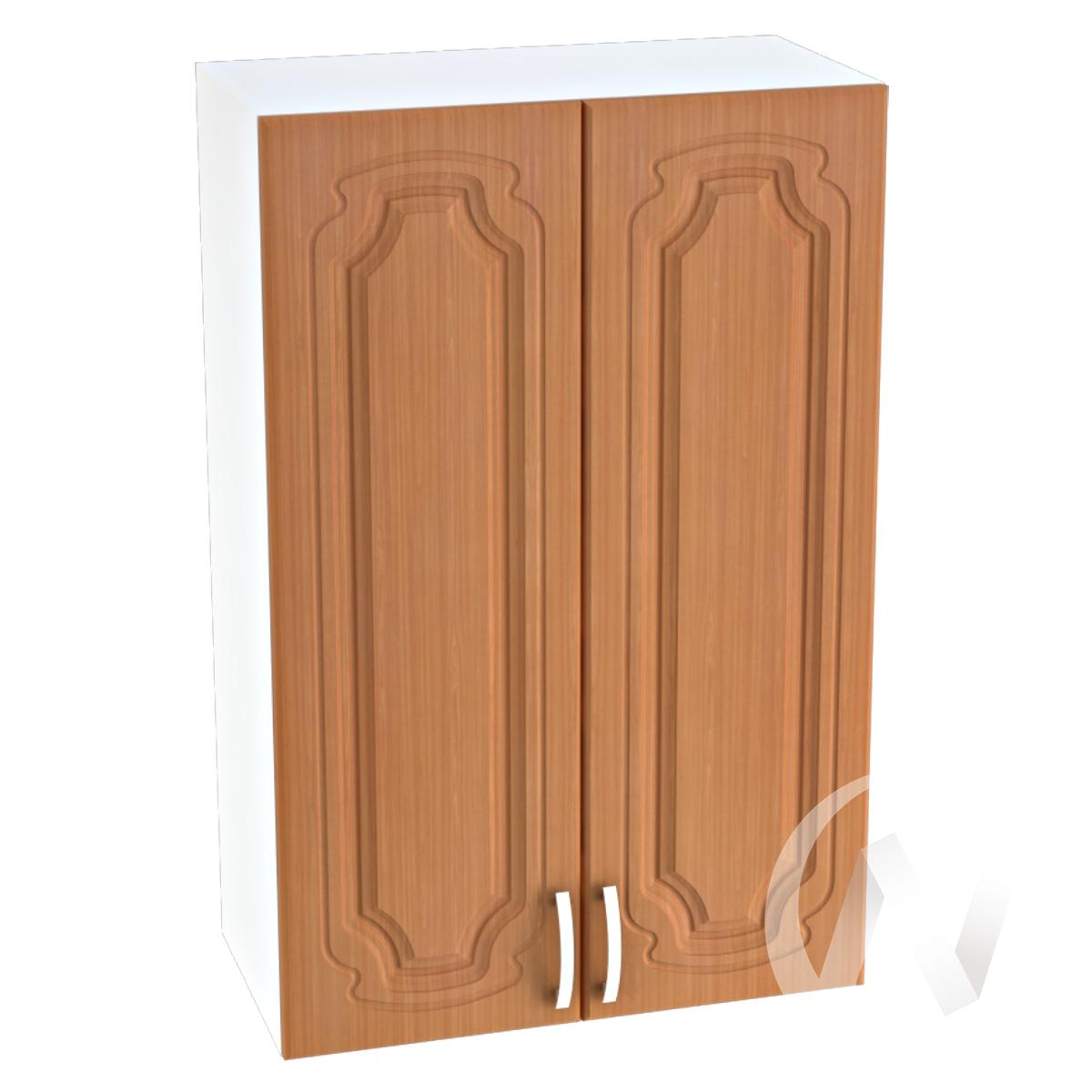 """Кухня """"Настя"""": Шкаф верхний 609, ШВ 609 (Орех миланский/корпус белый)"""