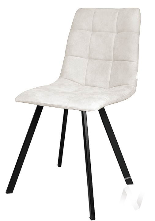 Стул Fred (Velutto 01/металлокаркас черный) комплект 2 шт.  в Томске — интернет магазин МИРА-мебель