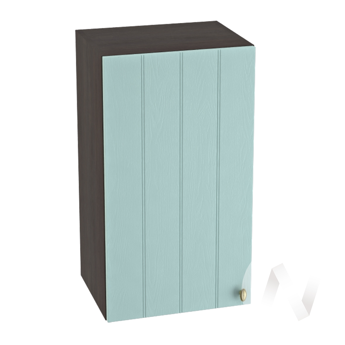 "Кухня ""Прованс"": Шкаф верхний 400, ШВ 400 (голубой/корпус венге)"