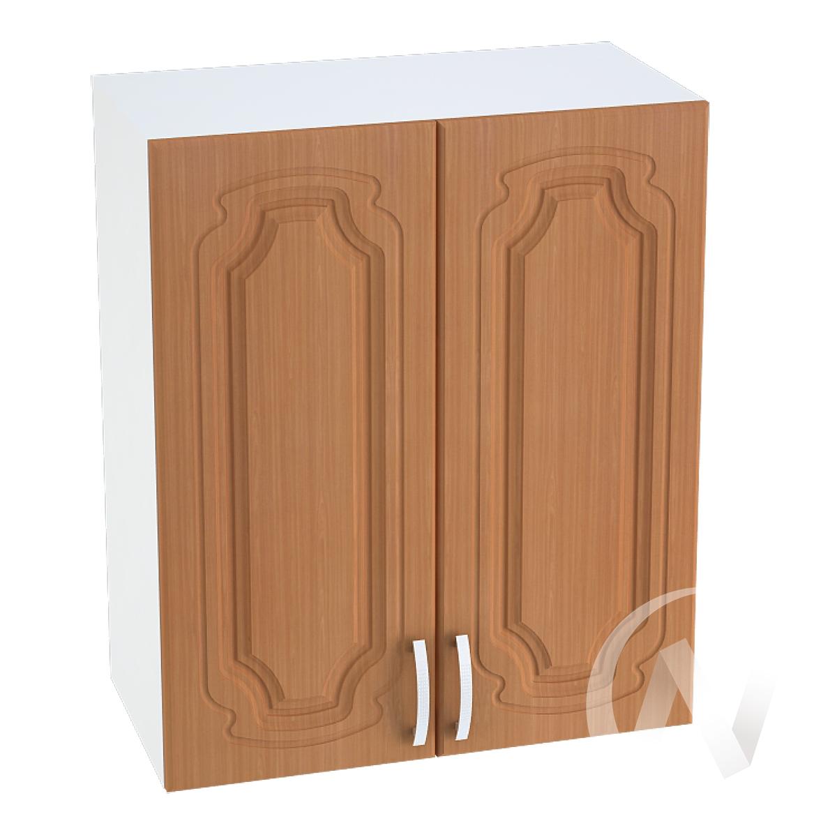 """Кухня """"Настя"""": Шкаф верхний 600, ШВ 600 (Орех миланский/корпус белый)"""