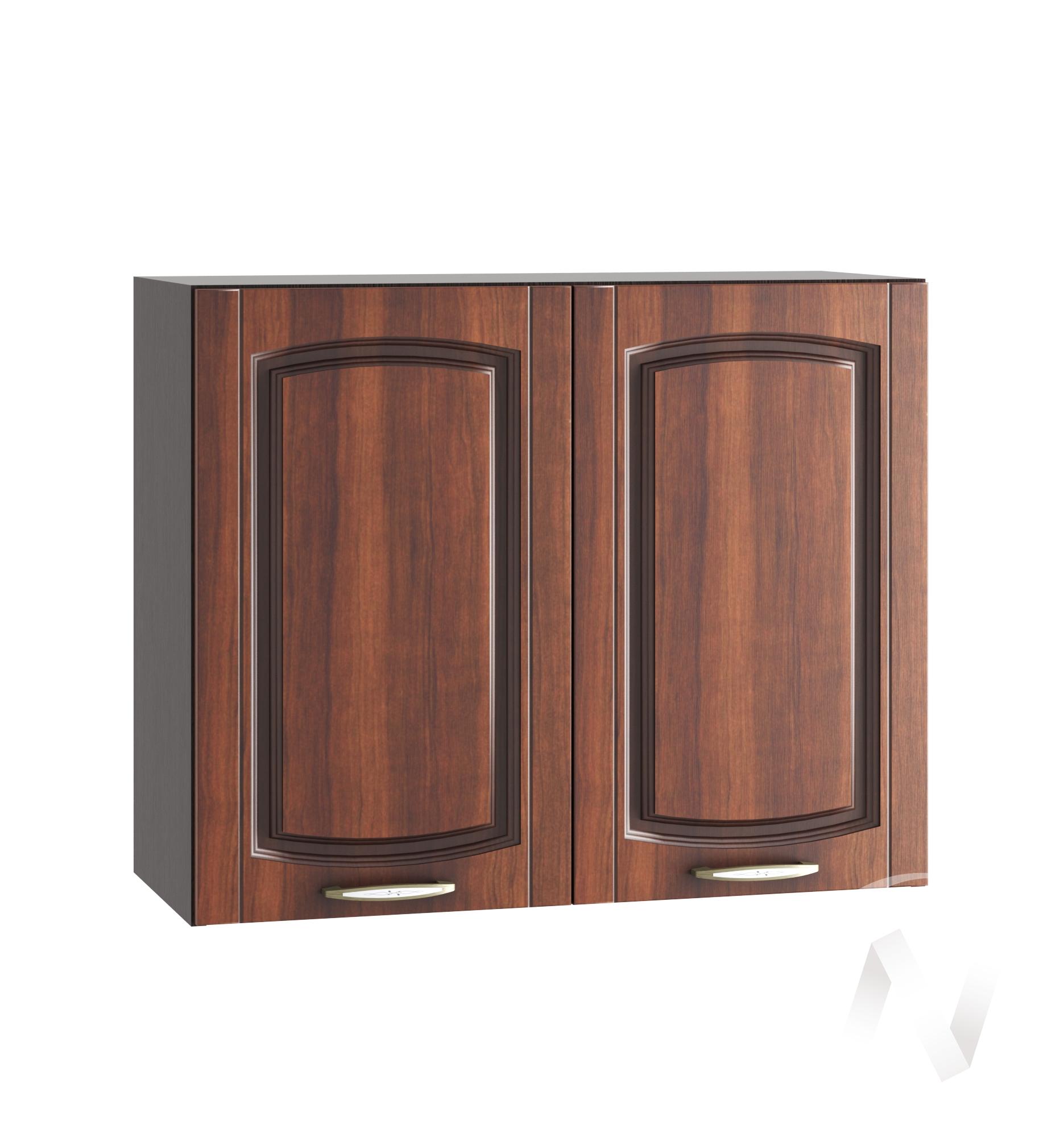 """Кухня """"Неаполь"""": Шкаф верхний 800, ШВ 800 (Италия/корпус венге)"""