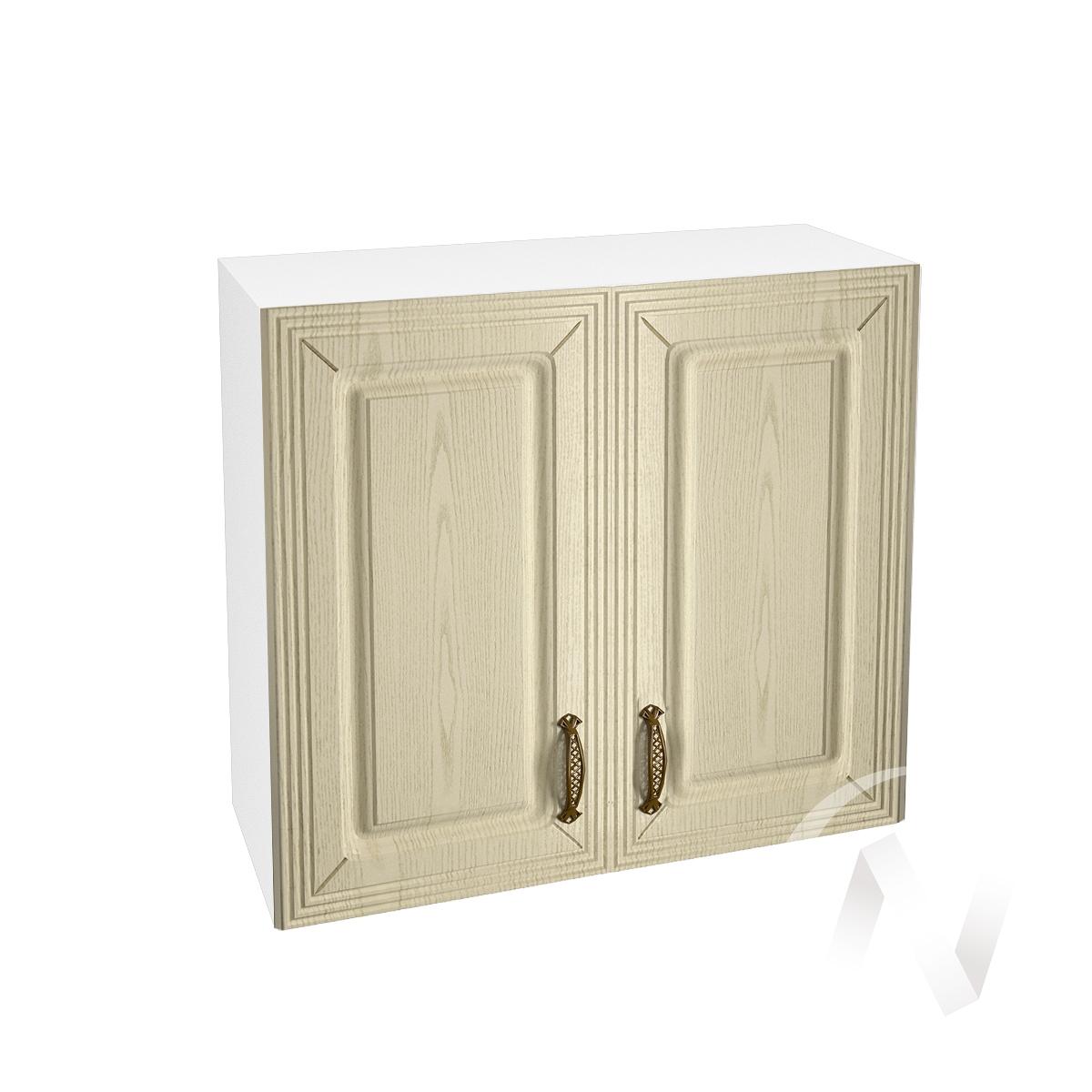 """Кухня """"Изабель"""": Шкаф верхний 800, ШВ 800 (корпус белый)"""