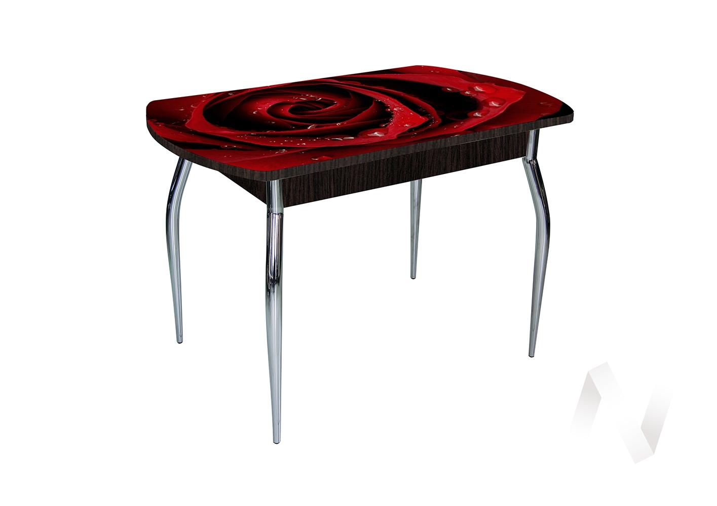 Стол раздвижной Asti-Foto2 (венге/стекло №36)  в Томске — интернет магазин МИРА-мебель
