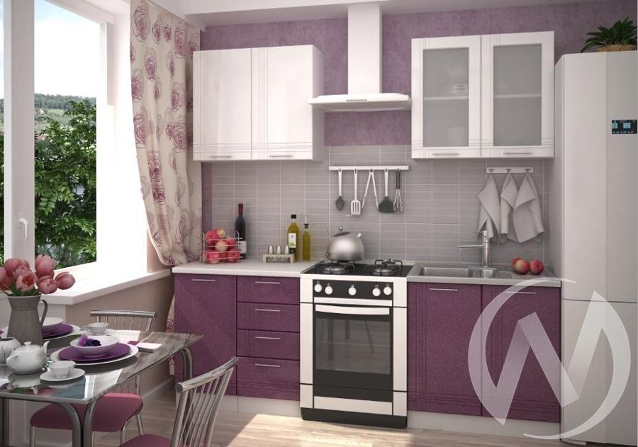 """Кухня """"Струна"""" (корпус белый)"""