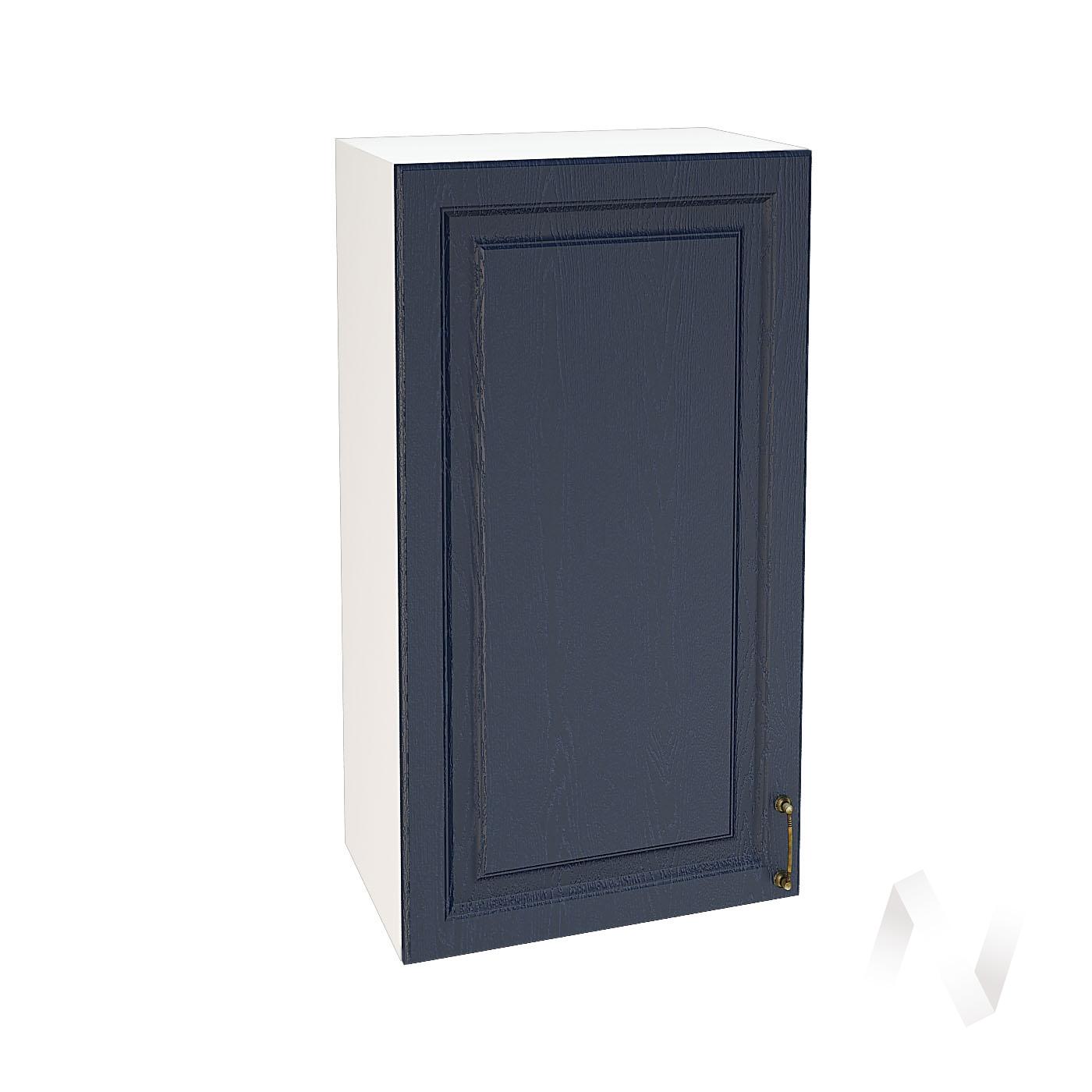 """Кухня """"Ницца"""": Шкаф верхний 509, ШВ 509 (Дуб чернильный/корпус белый)"""