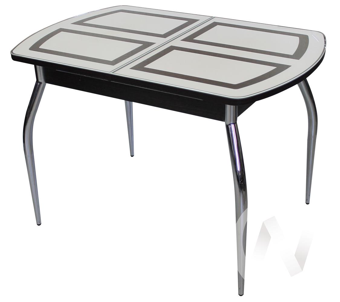 Стол раздвижной Asti-01 (венге/стекло светлое оракал 082)