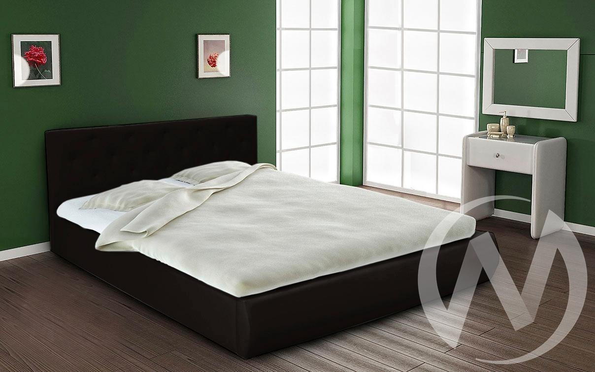 Кровать интерьерная 1,4 (черный)  в Томске — интернет магазин МИРА-мебель