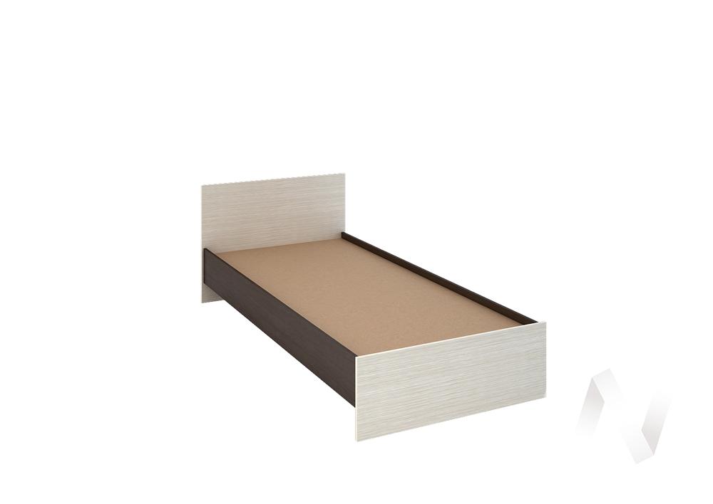 Бася Кровать 0,9  ЛДСП(венге/дуб бел) КР 555  в Томске — интернет магазин МИРА-мебель