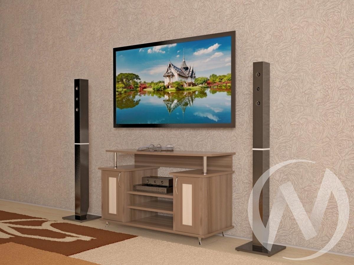 Тумба ТВН-4 (шимо темный/шимо светлый) недорого в Томске — интернет-магазин авторской мебели Экостиль