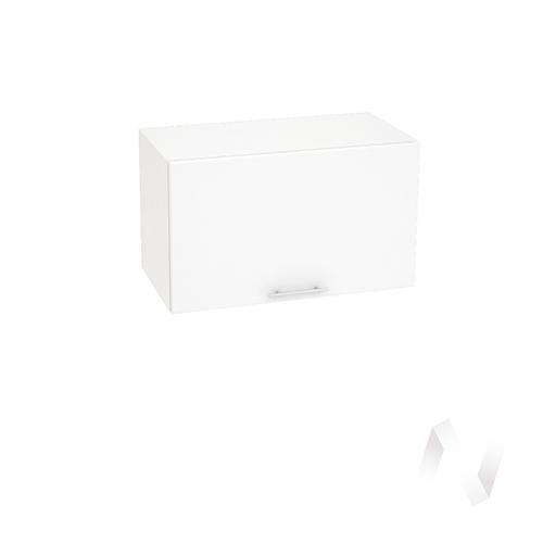 """Кухня """"Валерия-М"""": Шкаф верхний горизонтальный 600, ШВГ 600 (белый глянец/корпус белый)"""