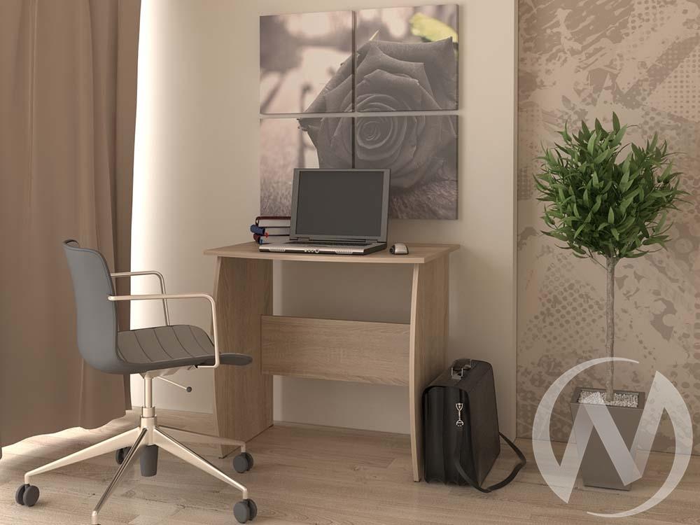 Компьютерный стол КС 800 (дуб сонома)  в Томске — интернет магазин МИРА-мебель