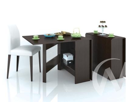 Стол-книжка (венге)  в Томске — интернет магазин МИРА-мебель
