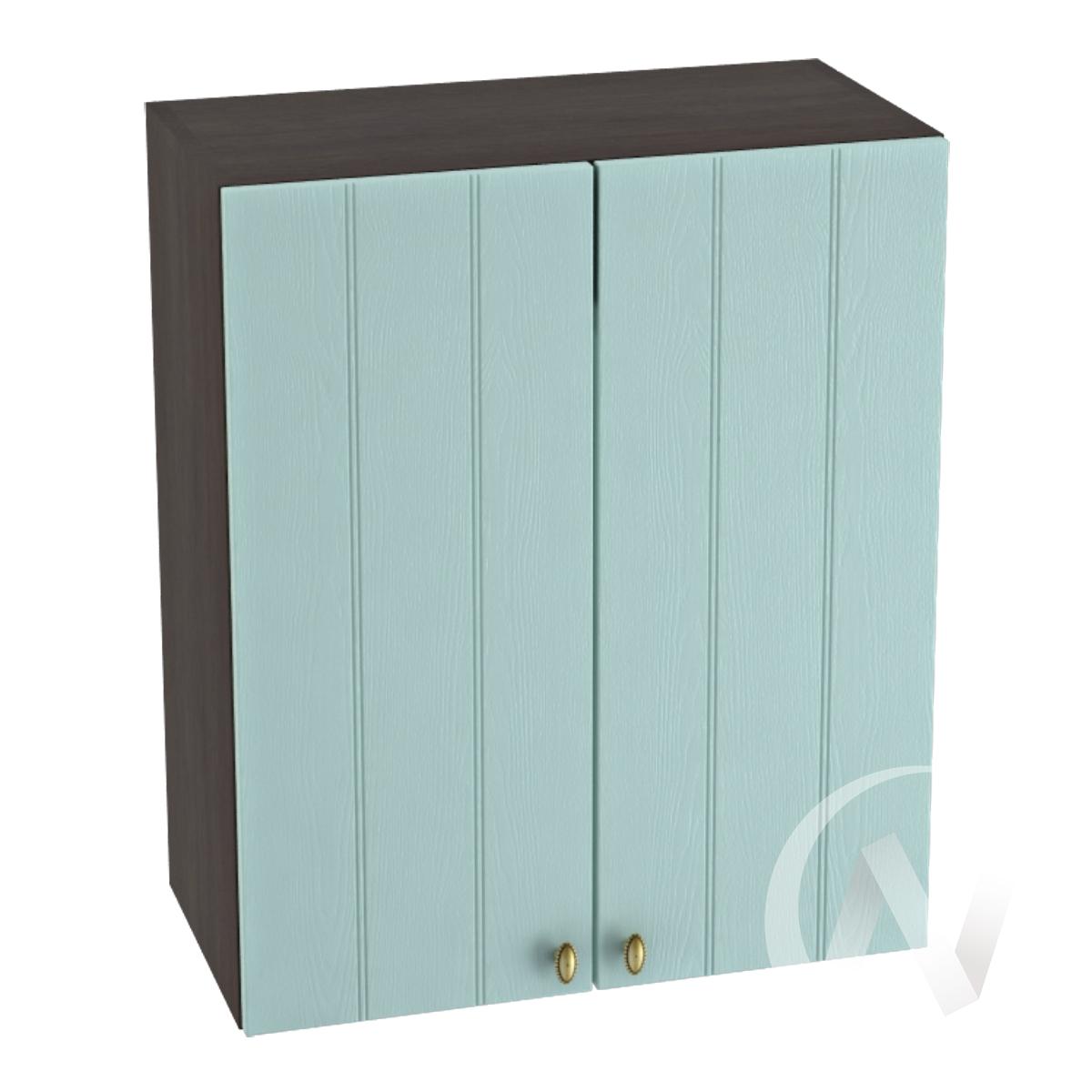 "Кухня ""Прованс"": Шкаф верхний 600, ШВ 600 (голубой/корпус венге)"