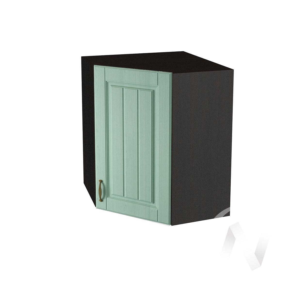 """Кухня """"Прованс"""": Шкаф верхний угловой 590, ШВУ 590 (корпус венге)"""