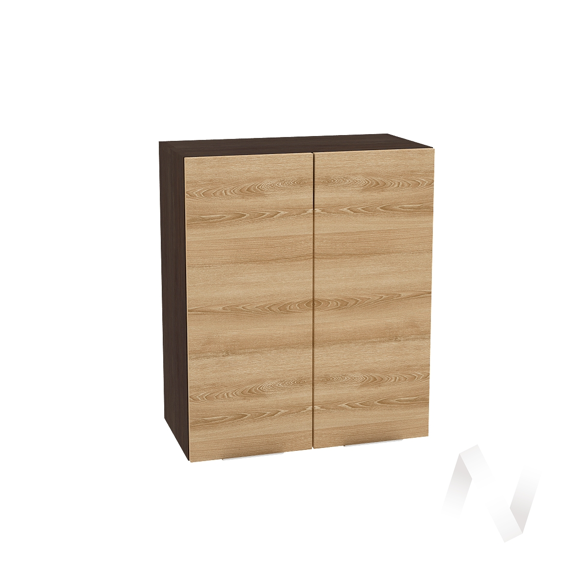 """Кухня """"Терра"""": Шкаф верхний 600, ШВ 600 (ель карпатская/корпус венге)"""
